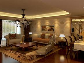 50平米一室一厅装修图