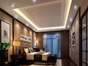 中式婚房装修效果图