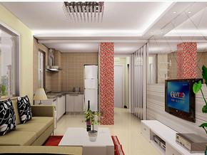 30平米一室一厅装修效果图