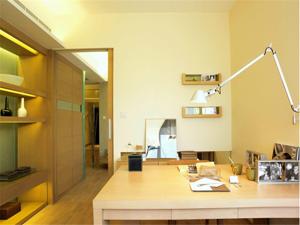 韩式书房房间布置图片