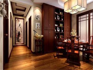 中式餐厅装修设计效果图