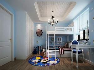 地中海风格儿童房装修图片