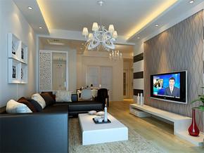 欧式小户型公寓装修效果图