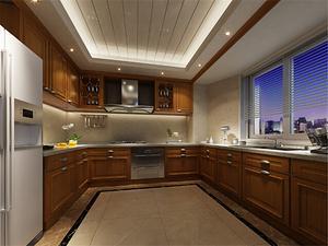 两室两厅厨房装修图