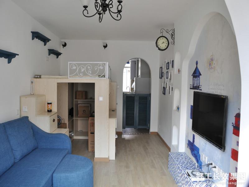 一室一厅全新地中海装修风格