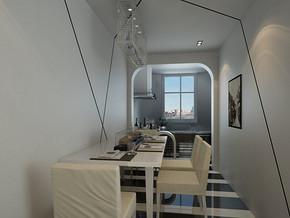 单身公寓装修设计图