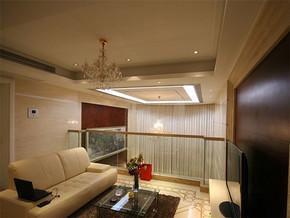 简约欧式风格客厅装修效果图