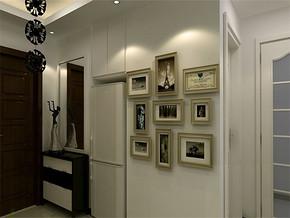 简约图片墙客厅装修效果图