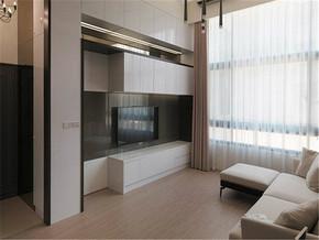 现代梦幻特色客厅家具装修案例