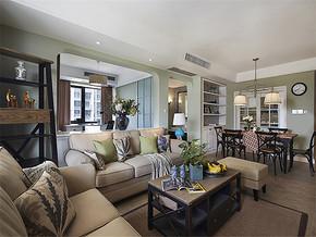 现代客厅舒适唯美家具装修样板房