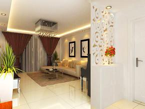 现代敞亮时尚客厅装修图片