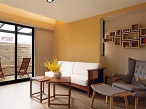 现代简约小客厅实木家具设计