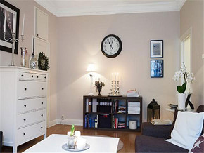 现代简约明亮室内家具装修图片