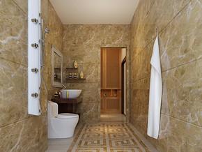 小户型卫浴间装修设计效果图