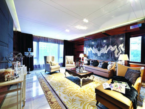 四室两厅简欧风格装修效果图