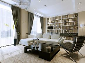 四室两厅家装设计效果图