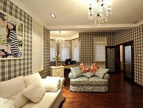 现代简约风格客厅居室装修效果图