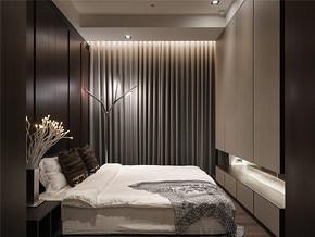 低调温馨小卧室装修样板房