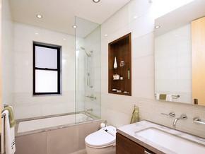 现代风格小户型洗手间装修效果图