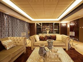 欧式简装风格四室两厅装修效果图