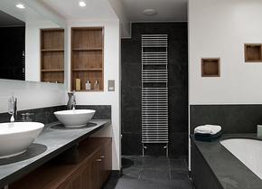 现代古典小卫生间装修设计图