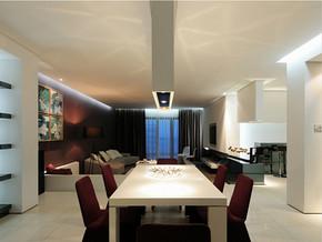 三室一厅一卫一厨餐厅装修效果图