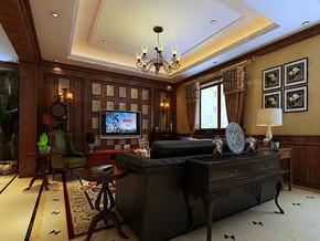 四室一厅房屋客厅装修效果图