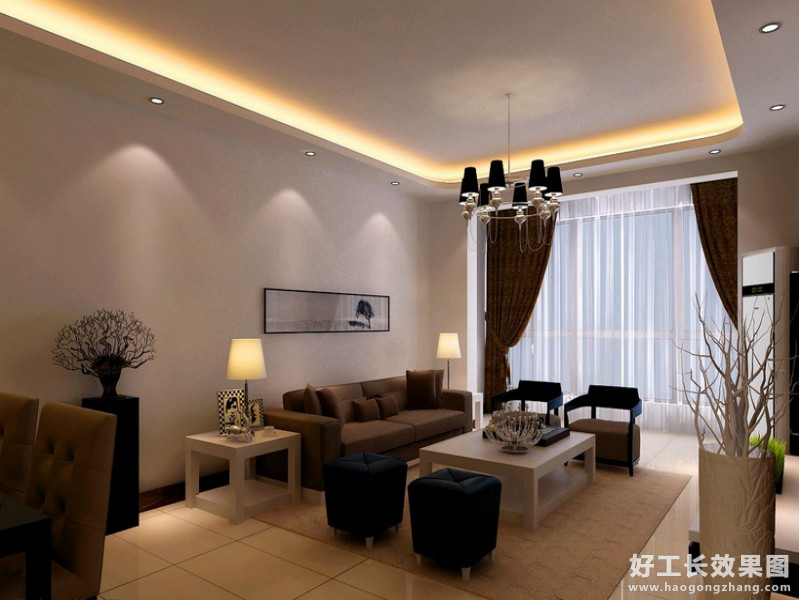 四室两厅一卫设计效果图
