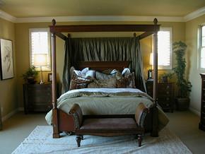 四室一厅户型美式风格效果图