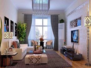 四室两厅现代家装效果图