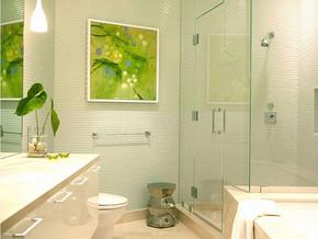 四室两厅一厨一卫卫生间设计效果图