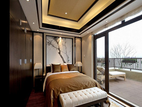 四室两厅一卫风格设计效果图