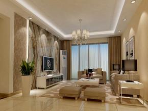 四室两厅现代简装效果图