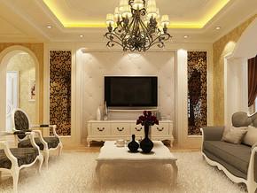 四室两厅欧式装修效果图