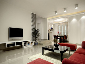 四室一厅房屋设计效果图
