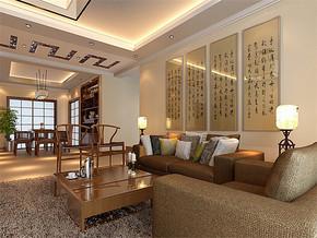 四室两厅中式装修效果图