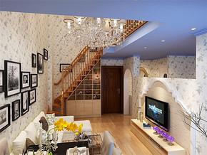 三室一厅一卫地中海装修效果图