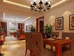 四室一厅家装装修效果图