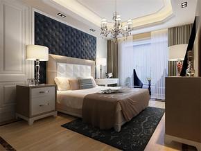 三室一厅一卫简约卧室装修效果图