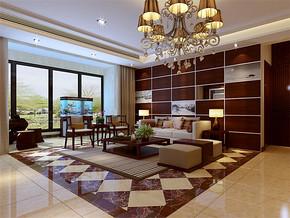 中式四室两厅一厨一卫平面图