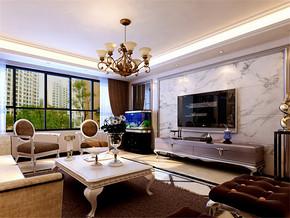 四室一厅房型设计效果图