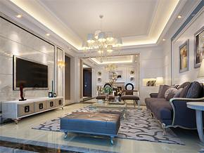 地中海室内房间设计效果图