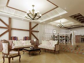 地中海四室一厅家装装修效果图