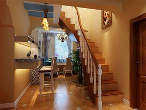 地中海四室一厅房屋装修图