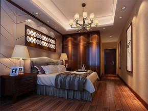 中式室内房屋装修效果图