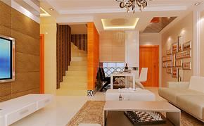 简约风格四室一厅房屋设计图