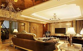 四室两厅房子欧式风格装修设计图