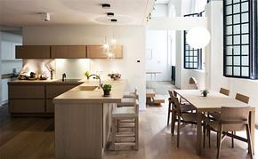 四室一厅家装厨房装修效果图