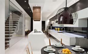 四室一厅房屋厨房橱柜设计图
