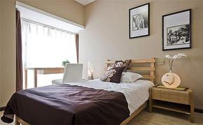 三室一厅一卫一厨日式卧室装修效果图